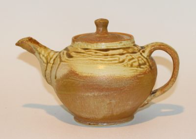 Yellow Ash Teapot