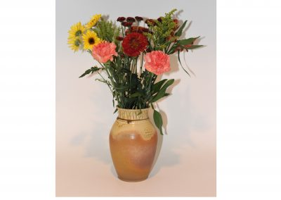Yellow Ash Flower Vase