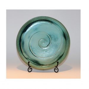 Turquoise Green Dinner Plate