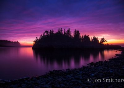 Split Rock Raspberry Sunrise