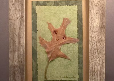 Framed Leafling  (oak #1)