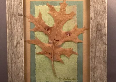 Framed Leafling (oak #3)