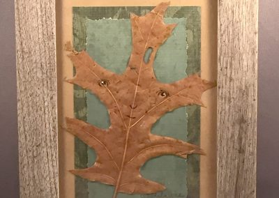 Framed Leafling (oak #4)