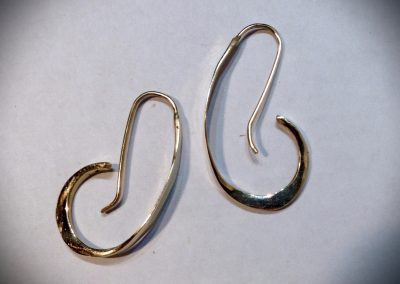 14 Kt Yellow Gold Ear Wires – FOP Earrings
