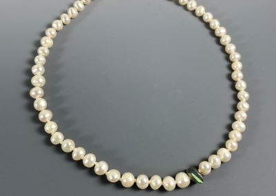 Freshwater Pearls with Labradorite Accent