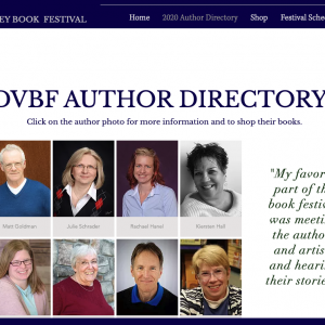 Books from Deep Valley Book Festival Authors