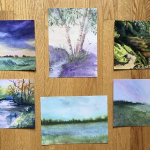 Minnesota Dreaming Note cards